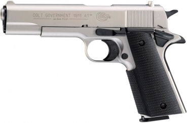 Colt Government 1911 A1 vernickelt SRS